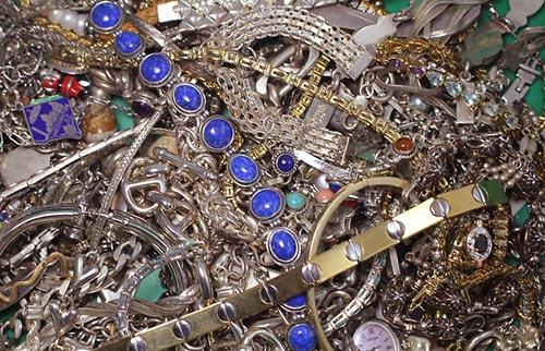 Broken Jewelry Pawn Shop in Azusa, California